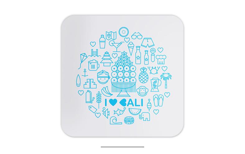icons bali coasters