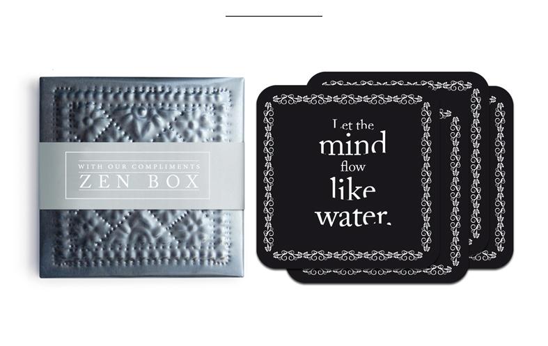 zen coasters box